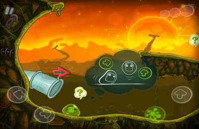 Capturas de pantalla del juego Wimp: Who Stole My Panties para iPhone, iPad o iPod.
