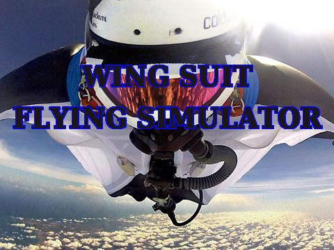 Wing suit: Flying simulator