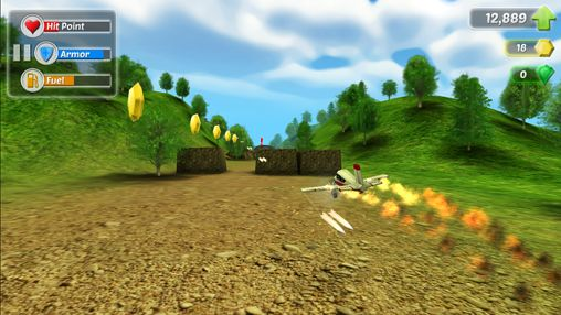Screenshots of the Wings on fire game for iPhone, iPad or iPod.