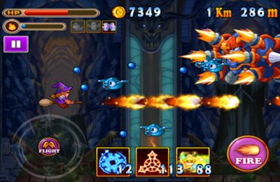 Screenshots do jogo Witch Adventure2 para iPhone, iPad ou iPod.