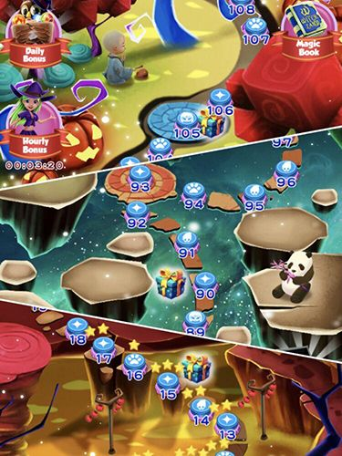 Download Witchland: Magic bubble shooter iPhone free game.