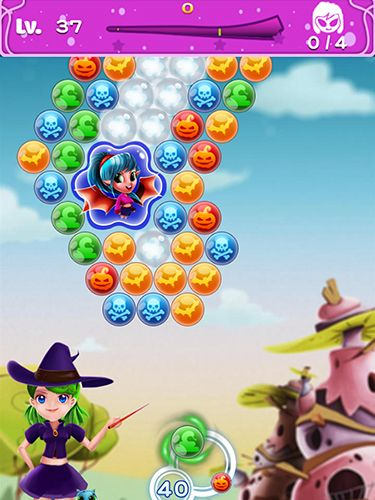 Kostenloser Download von Witchland: Magic bubble shooter für iPhone, iPad und iPod.