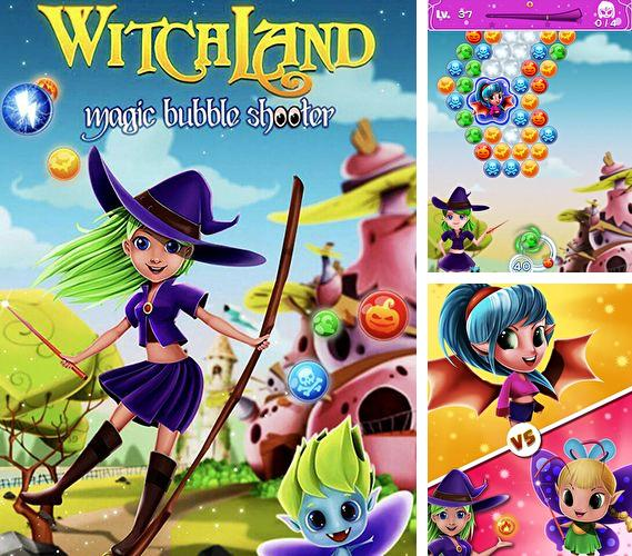 In addition to the game Meganoid for iPhone, iPad or iPod, you can also download Witchland: Magic bubble shooter for free.