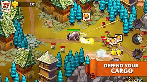 Kostenloser Download von Wizards and wagons für iPhone, iPad und iPod.