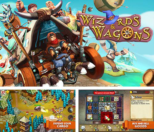 Download Wizards and wagons iPhone free game.