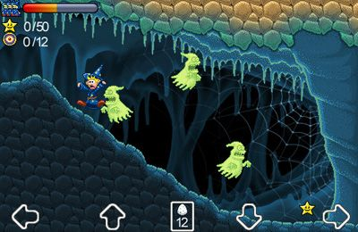Гра Wizzley Presto and the Vampire's Tomb для iPhone