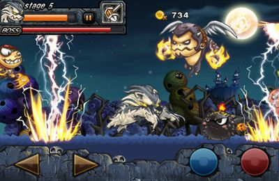 Capturas de pantalla del juego Wolf Boy para iPhone, iPad o iPod.