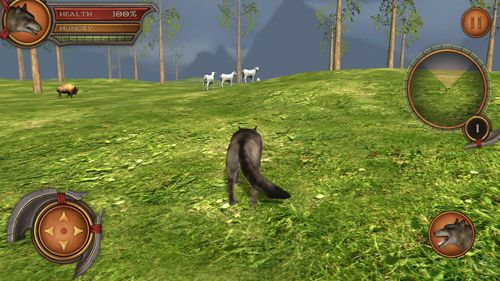 Descarga gratuita de Wolf simulator 2: Pro para iPhone, iPad y iPod.