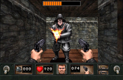 Download Wolfenstein iPhone free game.