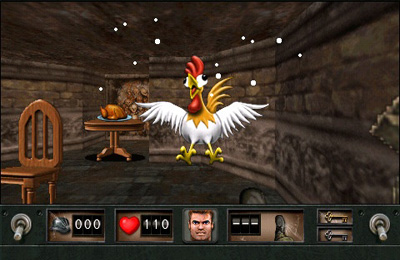Screenshots do jogo Wolfenstein para iPhone, iPad ou iPod.