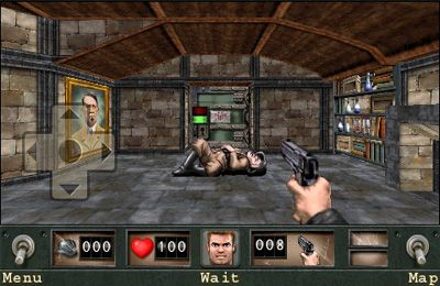Capturas de pantalla del juego Wolfenstein para iPhone, iPad o iPod.