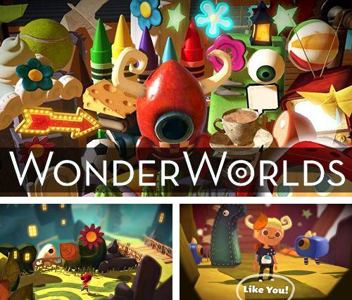 In addition to the game Stickman: Ice hockey for iPhone, iPad or iPod, you can also download Wonder worlds for free.