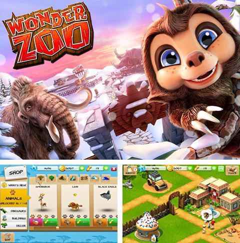 En plus du jeu Rallyes internationales: Jeu officiel pour iPhone, iPad ou iPod, vous pouvez aussi télécharger gratuitement Le zoo magnifique, Wonder zoo.