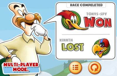 Capturas de pantalla del juego Woody Woodpecker para iPhone, iPad o iPod.