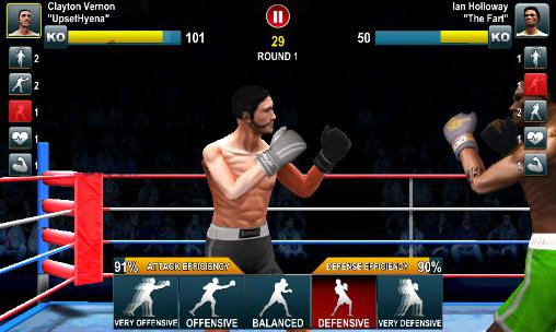 Screenshots vom Spiel World boxing challenge für iPhone, iPad oder iPod.