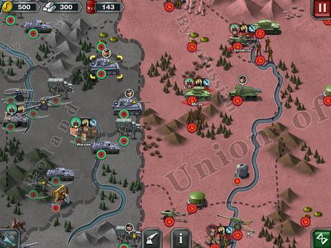 Screenshots do jogo World conqueror 3 para iPhone, iPad ou iPod.