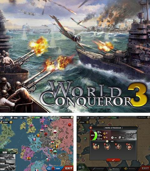 In addition to the game Green lantern: Rise of the manhunters for iPhone, iPad or iPod, you can also download World conqueror 3 for free.