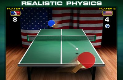 Kostenloser Download von World Cup Table Tennis für iPhone, iPad und iPod.