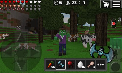 Free World of cubes: Survival craft download for iPhone, iPad and iPod.