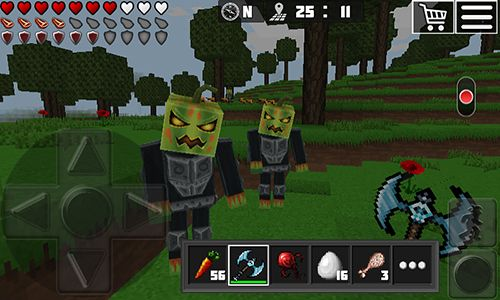 Игра World of cubes: Survival craft для iPhone