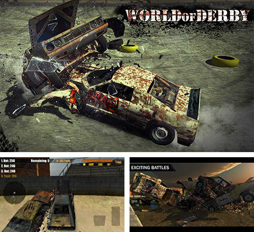 In addition to the game CrazyLegion for iPhone, iPad or iPod, you can also download World of derby for free.