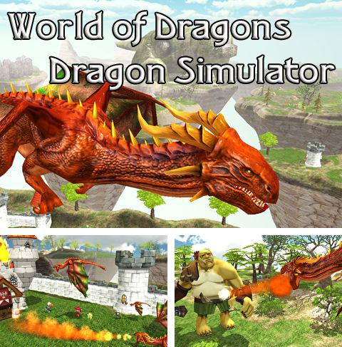 Alem do jogo Zig e Sharko para iPhone, iPad ou iPod, voce tambem pode baixar Mundo de dragões: Simulador de dragão, World of dragons: Dragon simulator gratuitamente.