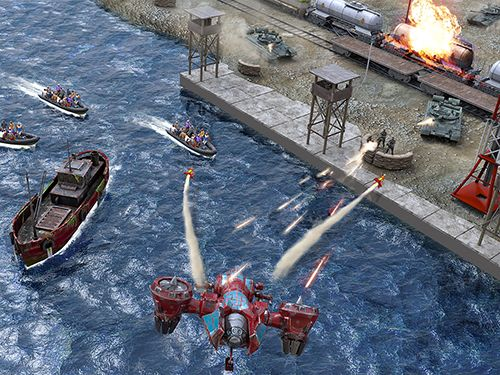 Écrans du jeu World of drones: War on terror pour iPhone, iPad ou iPod.