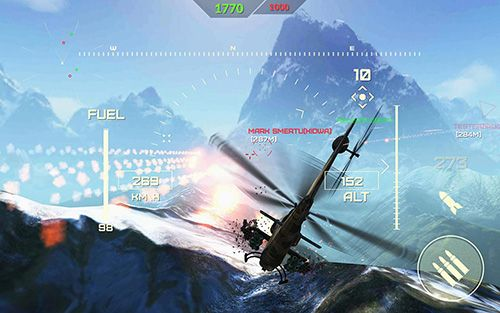 Écrans du jeu World of gunships pour iPhone, iPad ou iPod.