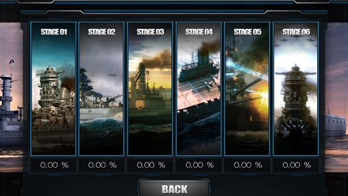 Screenshots vom Spiel World of navy ships für iPhone, iPad oder iPod.