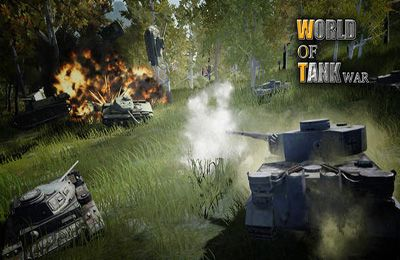 Écrans du jeu World Of Tank War pour iPhone, iPad ou iPod.