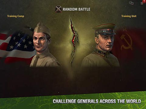 Kostenloses iPhone-Game World of Tanks: Generäle herunterladen.