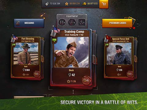 Kostenloser Download von World of tanks: Generals für iPhone, iPad und iPod.