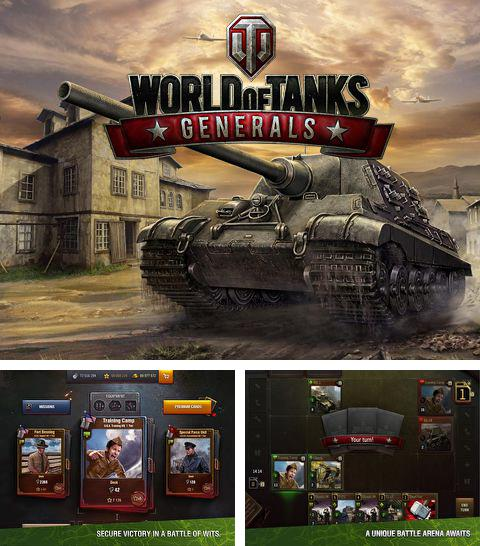 Kostenloses iPhone-Game World of Tanks: Generäle See herunterladen.
