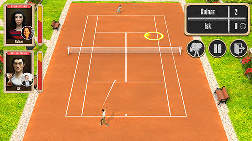 iPhone、iPad または iPod 用World of tennis: Roaring 20'sゲームのスクリーンショット。