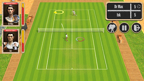 Screenshots do jogo World of tennis: Roaring 20's para iPhone, iPad ou iPod.