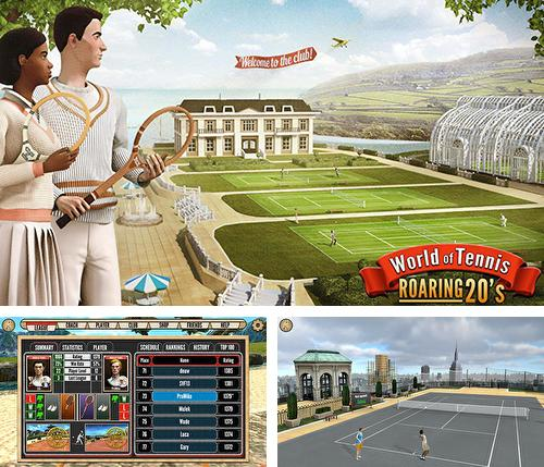 除了 iPhone、iPad 或 iPod 游戏,您还可以免费下载World of tennis: Roaring 20's, 。