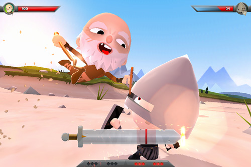 Descarga gratuita de World of warriors para iPhone, iPad y iPod.