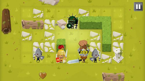 Screenshots vom Spiel World of warriors: Quest für iPhone, iPad oder iPod.
