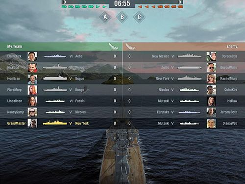 Baixe o jogo World of warships blitz para iPhone gratuitamente.
