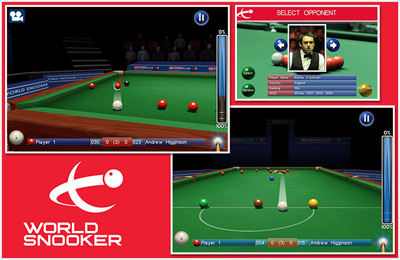 Download World Snooker iPhone free game.