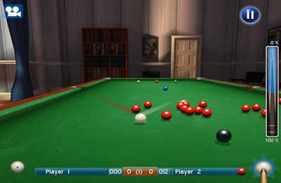 Screenshots vom Spiel World Snooker für iPhone, iPad oder iPod.