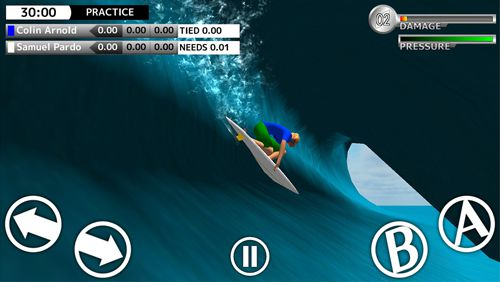 Screenshots do jogo World surf tour para iPhone, iPad ou iPod.