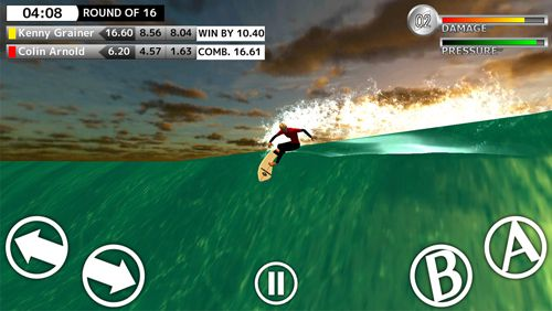 Screenshots of the World surf tour game for iPhone, iPad or iPod.