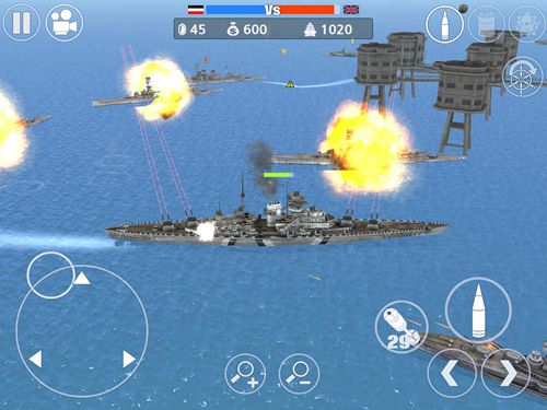 Screenshots of the World war 2: Battle of the Atlantic game for iPhone, iPad or iPod.