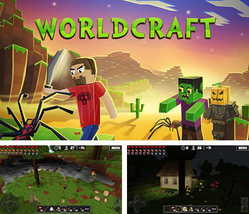 In addition to the game Flappy candy for iPhone, iPad or iPod, you can also download Worldcraft for free.