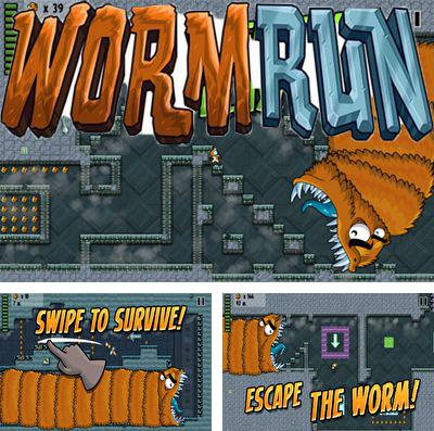 In addition to the game Devil Hunter I for iPhone, iPad or iPod, you can also download Worm Run for free.
