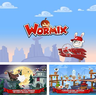In addition to the game Cubeventure for iPhone, iPad or iPod, you can also download Wormix for free.