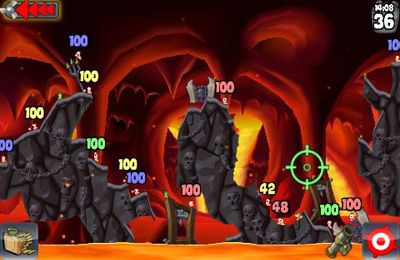 Download Worms iPhone free game.