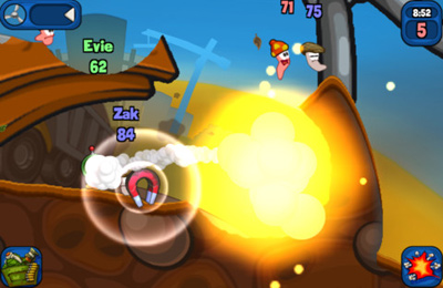下载免费 iPhone、iPad 和 iPod 版Worms 2: Armageddon。