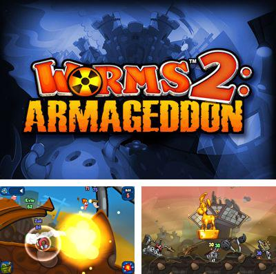 In addition to the game Gun zombie 2: Reloaded for iPhone, iPad or iPod, you can also download Worms 2: Armageddon for free.